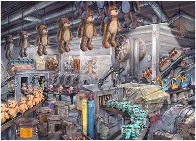Пазл Ravensburger Фабрика игрушек / 16531