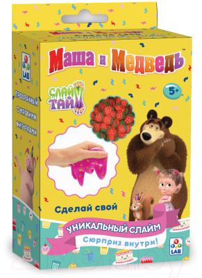 Набор для создания слайма 1Toy Слайм тайм. Маша и медведь День варенья / Т16609