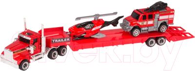Автовоз игрушечный Huada Трейлер / 1698414-SQ80983-4