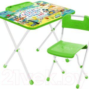 Комплект мебели с детским столом Ника Д1М Disney 1. Микки Маус и друзья