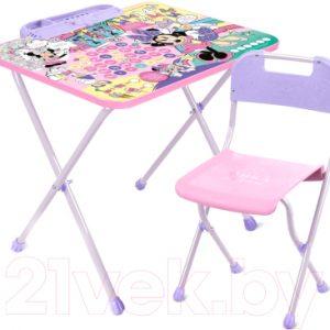 Комплект мебели с детским столом Ника Д1МН Disney 1. Минни Маус