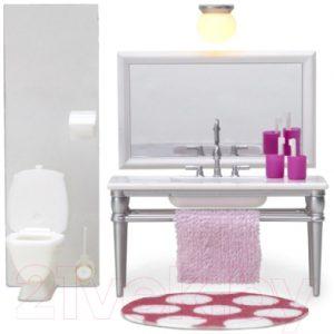 Комплект аксессуаров для кукольного домика Lundby Ванная с 1 раковиной / LB-60208700