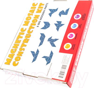 Развивающая игра Анданте Магнитный конструктор-мозаика № 1 Самолетик и друзья / RDI-D103а