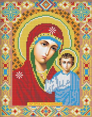 Набор алмазной вышивки Алмазная живопись Икона Казанская Богородица / АЖ-2002