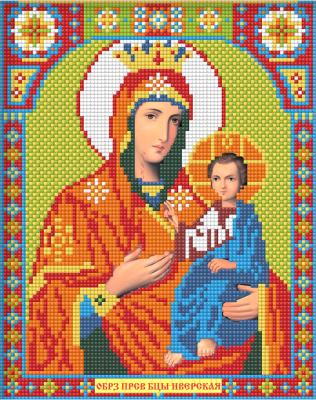 Набор алмазной вышивки Алмазная живопись Икона Иверская Богородица / АЖ-2010