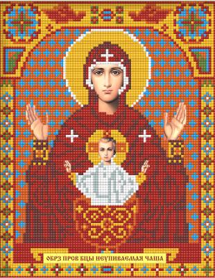 Набор алмазной вышивки Алмазная живопись Икона Неупиваемая Чаша / АЖ-2011