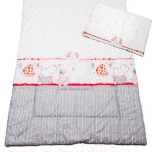 Комплект постельный детский Баю-Бай Дружба / К20-Д1