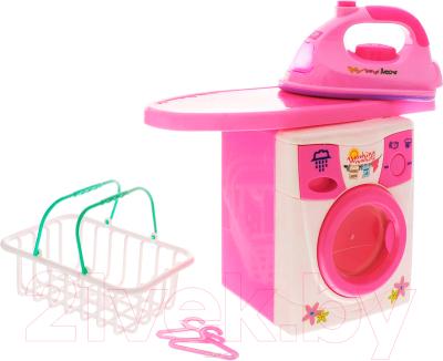Комплект бытовой техники игрушечный Haiyuanquan Прачечная 2028