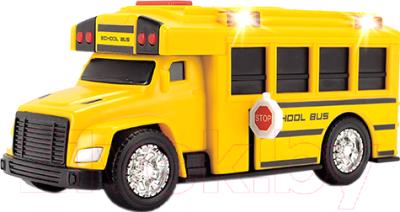 Автобус игрушечный Dickie Школьный со светом и звуком / 203302017