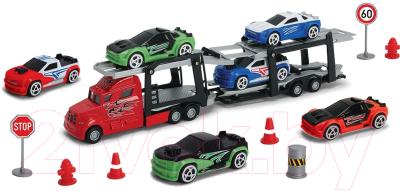 Набор игрушечных автомобилей Dickie Трейлер / 203745001