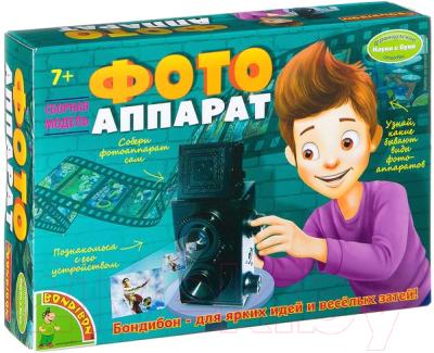 Детский фотоаппарат Bondibon Французские опыты. Фотоаппарат / ВВ2106