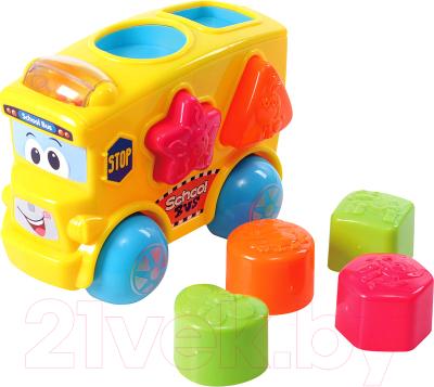 Развивающая игрушка PlayGo Автобус-сортер 2107