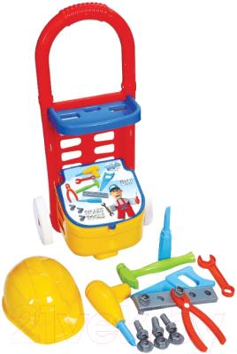 Тележка с инструментами игрушечная Terides Т2-132