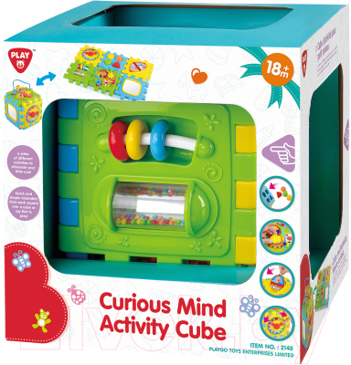 Развивающая игрушка PlayGo Куб / 2145