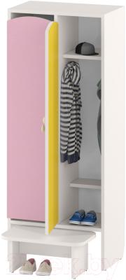 Шкаф для детской одежды Славянская столица ДУ-ШР2-1