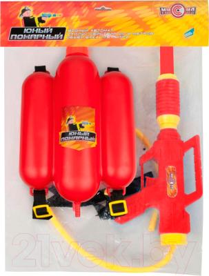 Бластер игрушечный Mission-Target Пожарный 2235C