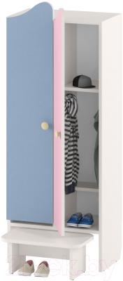 Шкаф для детской одежды Славянская столица ДУ-ШР2-2