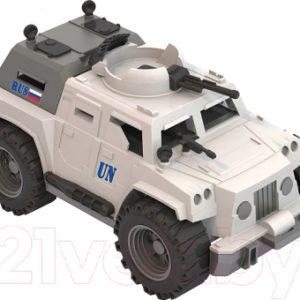 Автомобиль игрушечный Нордпласт Джип Миротворец / 241