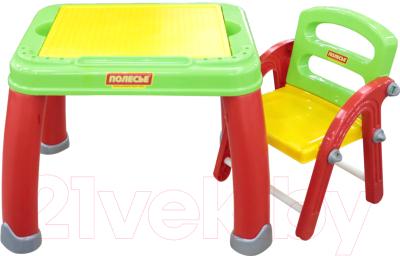 Комплект мебели с детским столом Полесье Набор дошкольника №2 / 43023
