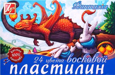 Пластилин восковой ЛУЧ Фантазия / 25С 1525-08
