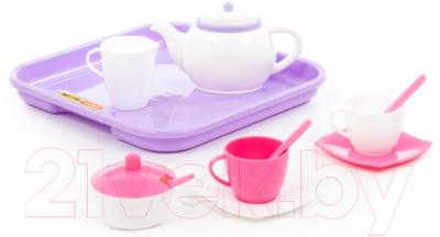 Набор игрушечной посуды Полесье Алиса на 2 персоны / 58959