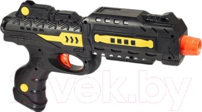 Бластер игрушечный Mission-Target Атака АК-25 M01+