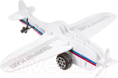 Сборная игрушка Bondibon Самолет с инерционным механизмом 2613D-E / ВВ2227