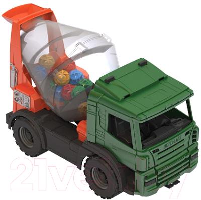 Автомобиль игрушечный Нордпласт Бетономешалка / 272