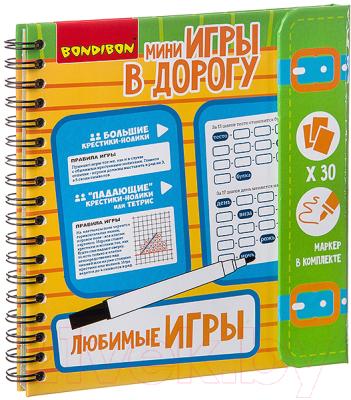 Развивающая книга Bondibon Любимые игры / ВВ2737