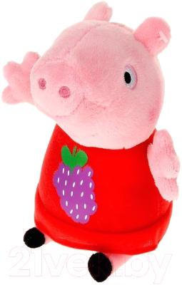 Мягкая игрушка Peppa Pig Пеппа с виноградом / 29621