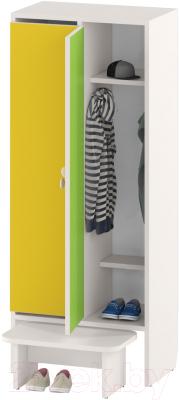 Шкаф для детской одежды Славянская столица ДУ-Ш2