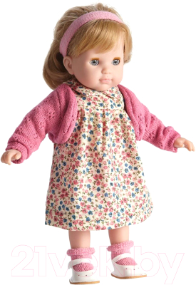 Кукла JC Toys Карла в цветочном платье и розовом кардигане / 30001