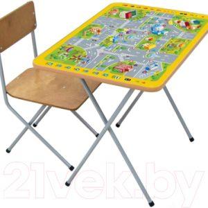 Комплект мебели с детским столом Фея Досуг 301 ПДД