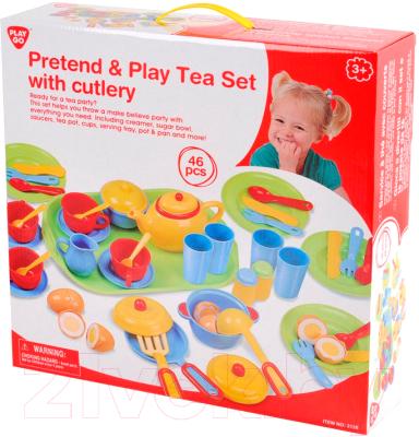 Набор игрушечной посуды PlayGo Чайный набор посуды 3126