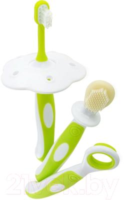 Набор зубных щеток для новорожденных Happy Care Первый / 31396