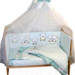 Комплект постельный детский Баю-Бай Ми-ми Мишки / К31-ММ3