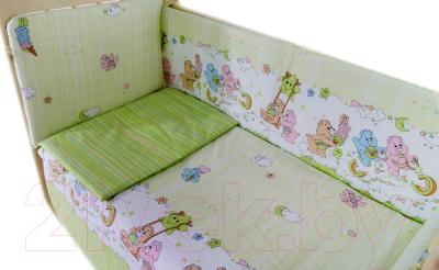 Комплект постельный в кроватку Баю-Бай Забава / К31-З3