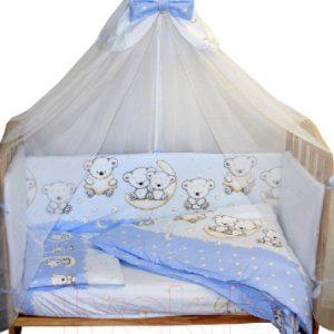 Комплект постельный детский Баю-Бай Ми-ми Мишки / К31-ММ4