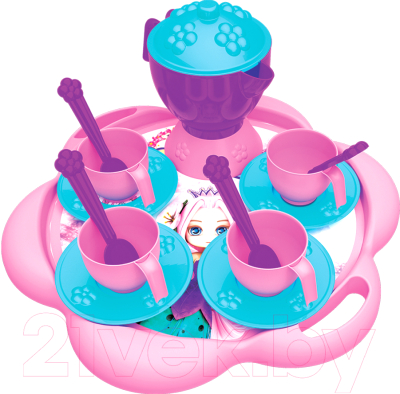 Набор игрушечной посуды Terides Принцесса и Единорог / Т3-151