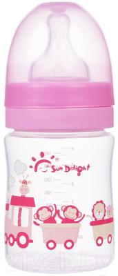 Бутылочка для кормления Sun Delight С широким горлышком / 31565