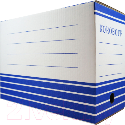 Коробка архивная Koroboff 327х150х240