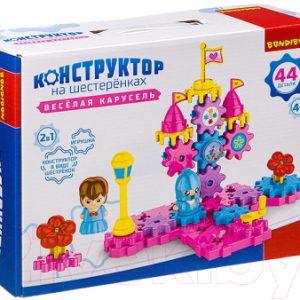 Конструктор Bondibon Веселая карусель / ВВ3300