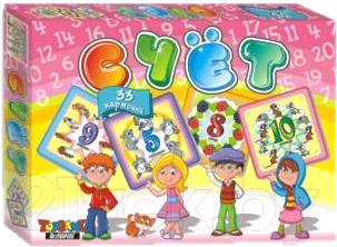 Развивающая игра Topgame Счет 33 карточки / 01384