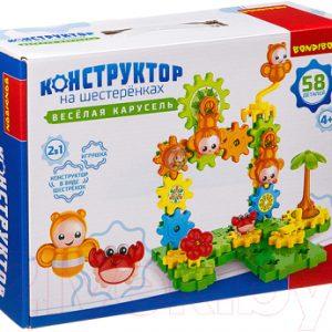 Конструктор Bondibon Веселая карусель / ВВ3321