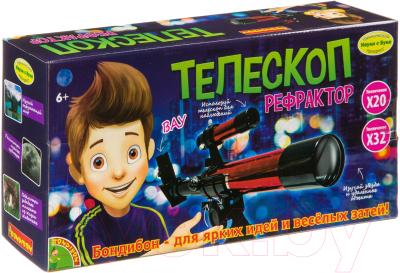Детский телескоп Bondibon Телескоп-рефрактор / ВВ3374