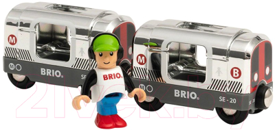 Вагон метро игрушечный Brio Метро / 33838
