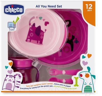 Набор детской посуды Chicco 340624057