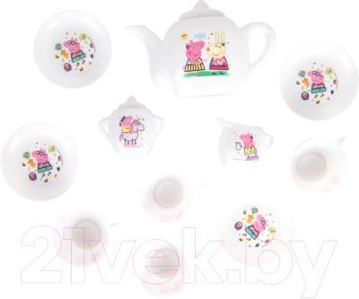 Набор игрушечной посуды Peppa Pig Чаепитие с Пеппой / 34523