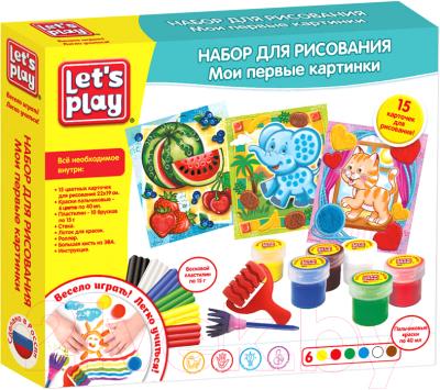 Набор для творчества Let's Play Набор для рисования. Мои первые картинки / 35849