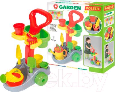 Тележка с инструментами игрушечная Полесье Садовник / 36599